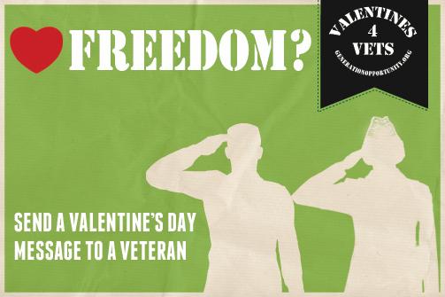 Valentines 4 Vets logo