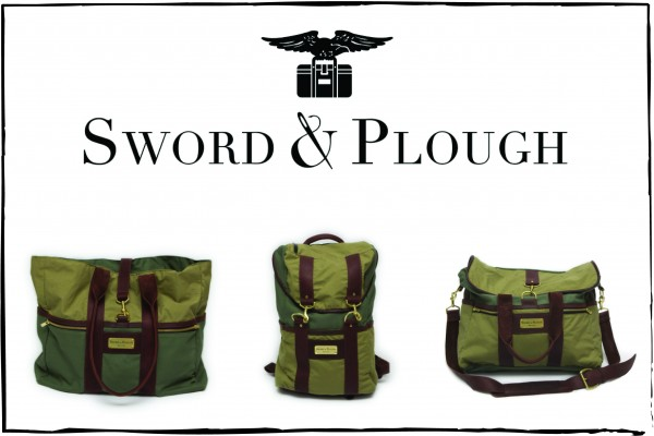 sword and plough military bags