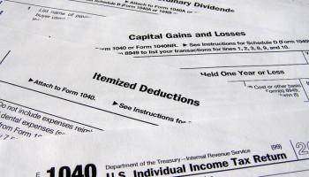 tax deduction paperwork