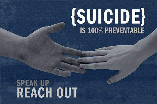 suicide prevention speak up reach out