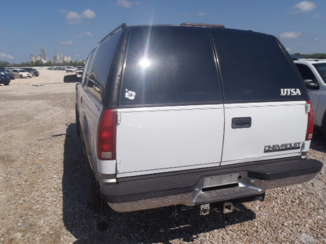 donated chevy SUV